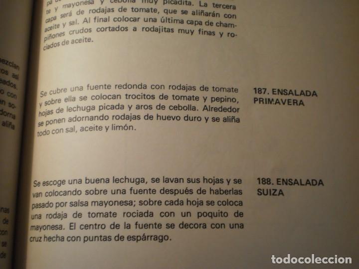 Libros antiguos: Cocina Vegetariana (504 recetas compatibles) Ana Maria Royo (1982) - Foto 6 - 195291535