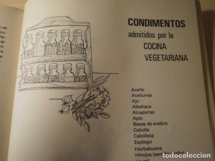 Libros antiguos: Cocina Vegetariana (504 recetas compatibles) Ana Maria Royo (1982) - Foto 10 - 195291535