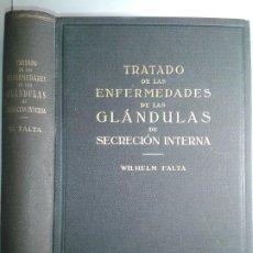 Libros antiguos: TRATADO DE LAS ENFERMEDADES DE LAS GLÁNDULAS DE SECRECCIÓN INTERNA 1930 WILHELM FALTA 1ª ED. LABOR. Lote 195324608