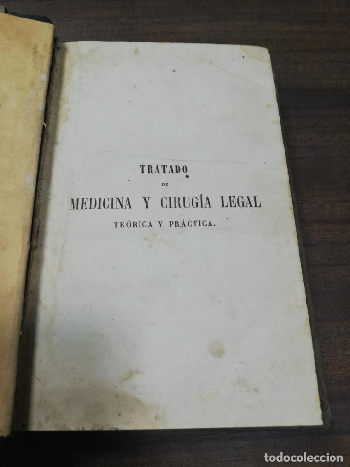Libros antiguos: TRATADO DE MEDICINA Y CIRUGIA LEGAL. D. PEDRO MATA. 4ª EDICION. TOMO I. CARLOS BAILLY-BAILLIERE.1866 - Foto 2 - 195366092