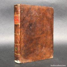 Libros antiguos: XIX - DUMAS DE FISOLOGIA - MEDICINA - ALIMENTACIÓN - ENCUADERNACIÓN. Lote 195371336