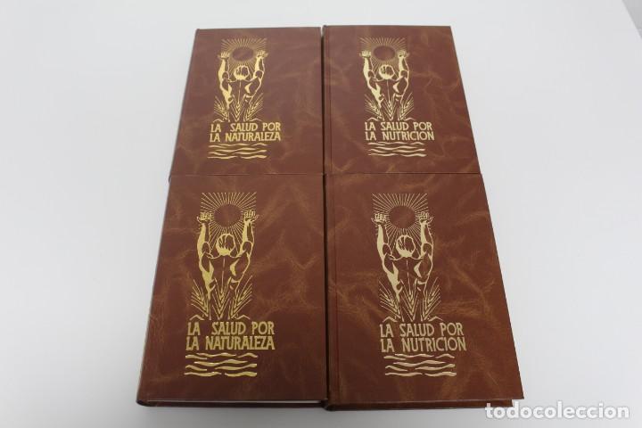4 LIBROS (LA SALUD POR LA NATURALEZA) Y (LA SALUD POR LA NUTRICIÓN) (Libros Antiguos, Raros y Curiosos - Ciencias, Manuales y Oficios - Medicina, Farmacia y Salud)
