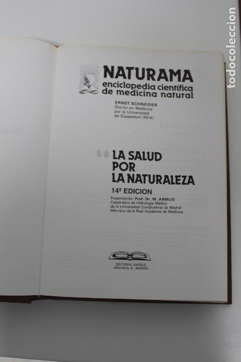 Libros antiguos: 4 LIBROS (LA SALUD POR LA NATURALEZA) Y (LA SALUD POR LA NUTRICIÓN) - Foto 3 - 195396782