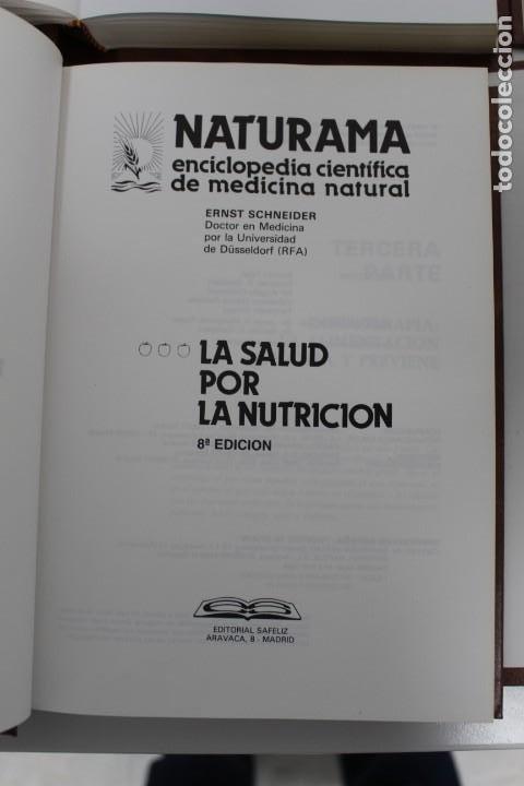 Libros antiguos: 4 LIBROS (LA SALUD POR LA NATURALEZA) Y (LA SALUD POR LA NUTRICIÓN) - Foto 4 - 195396782