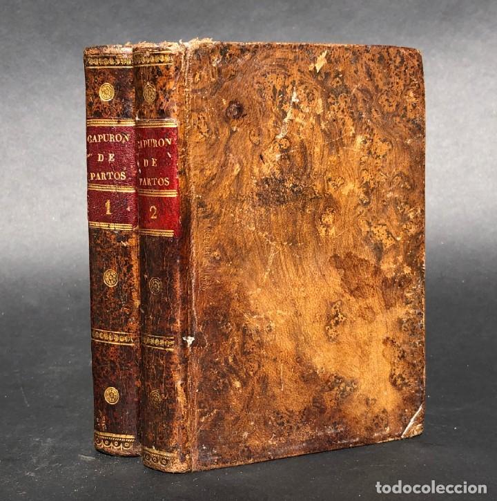 1822 - CURSO TEÓRICO Y PRACTICO DE PARTOS - OBSTETRICIA - MEDICINA - PUERICULTURA (Libros Antiguos, Raros y Curiosos - Ciencias, Manuales y Oficios - Medicina, Farmacia y Salud)