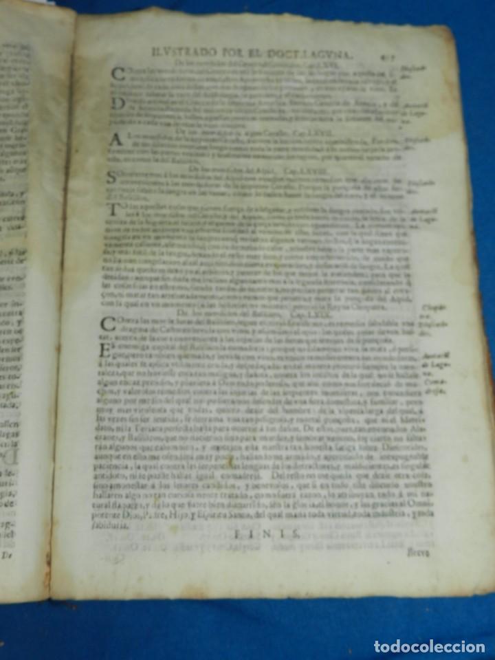 Libros antiguos: ANDRÉS DE LAGUNA - PEDACIO DIOSCORIDES ANAZARBEO ACERCA DE LA MATERIA MEDICINAL Y VENENOS MORTIFEROS - Foto 30 - 195486703