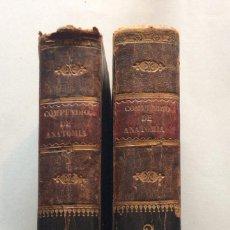 Livros antigos: COMPENDIO DE ANATOMÍA GENERAL Y DESCRIPTIVA,BOSCASA,1838. Lote 195730680