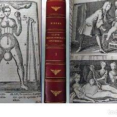 Libros antiguos: 1730: CLAVE MÉDICO-CHIRÚRGICA. VALORADO LIBRO ESPAÑOL CON ESPECTACULARES ILUSTRACIONES. Lote 195931505