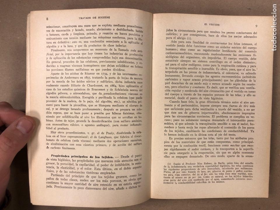 Libros antiguos: HIGIENE URBANA Y SOCIAL. DR. A. SALVAT NAVARRO. MANUEL MARÍN EDITOR 1935 (1ªEDICIÓN). ILUSTRADO - Foto 3 - 196058708