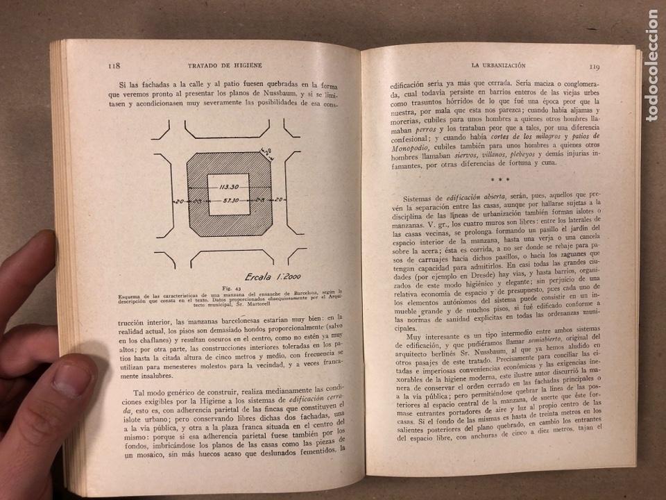 Libros antiguos: HIGIENE URBANA Y SOCIAL. DR. A. SALVAT NAVARRO. MANUEL MARÍN EDITOR 1935 (1ªEDICIÓN). ILUSTRADO - Foto 4 - 196058708