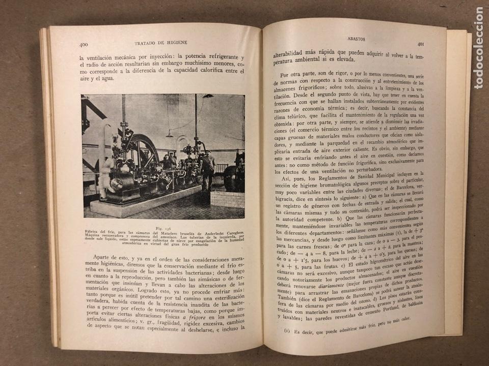 Libros antiguos: HIGIENE URBANA Y SOCIAL. DR. A. SALVAT NAVARRO. MANUEL MARÍN EDITOR 1935 (1ªEDICIÓN). ILUSTRADO - Foto 6 - 196058708