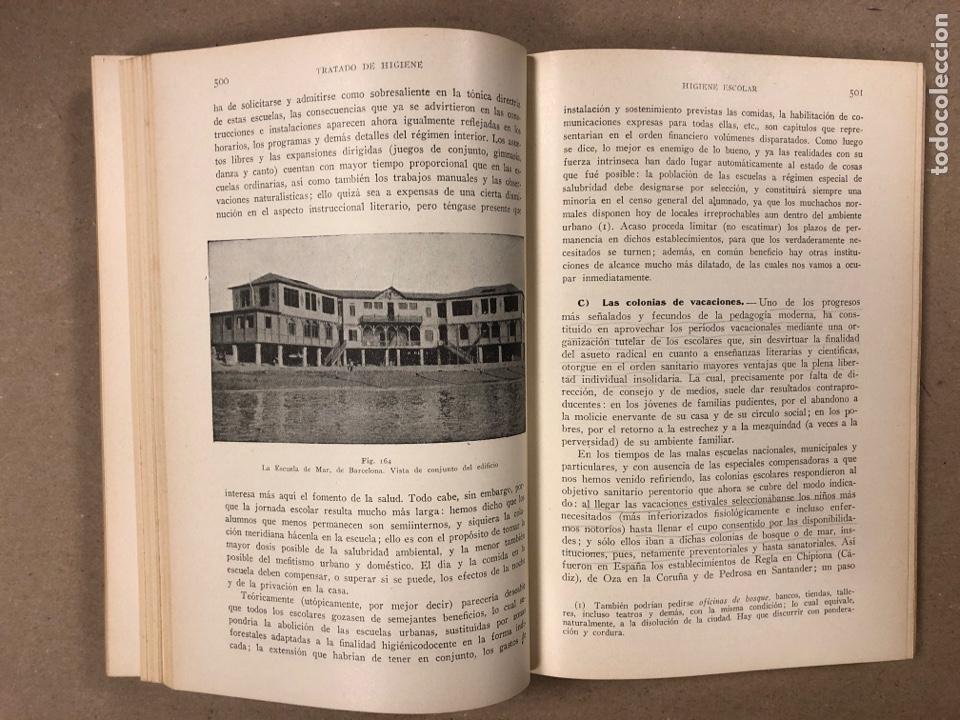 Libros antiguos: HIGIENE URBANA Y SOCIAL. DR. A. SALVAT NAVARRO. MANUEL MARÍN EDITOR 1935 (1ªEDICIÓN). ILUSTRADO - Foto 7 - 196058708