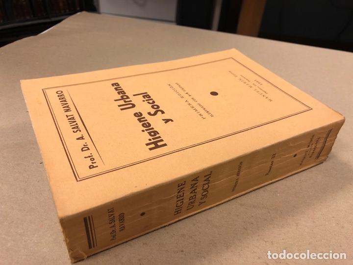Libros antiguos: HIGIENE URBANA Y SOCIAL. DR. A. SALVAT NAVARRO. MANUEL MARÍN EDITOR 1935 (1ªEDICIÓN). ILUSTRADO - Foto 10 - 196058708