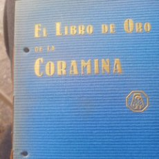 Libros antiguos: LIBRO DE ORO DE LA CORAMINA. Lote 196071950