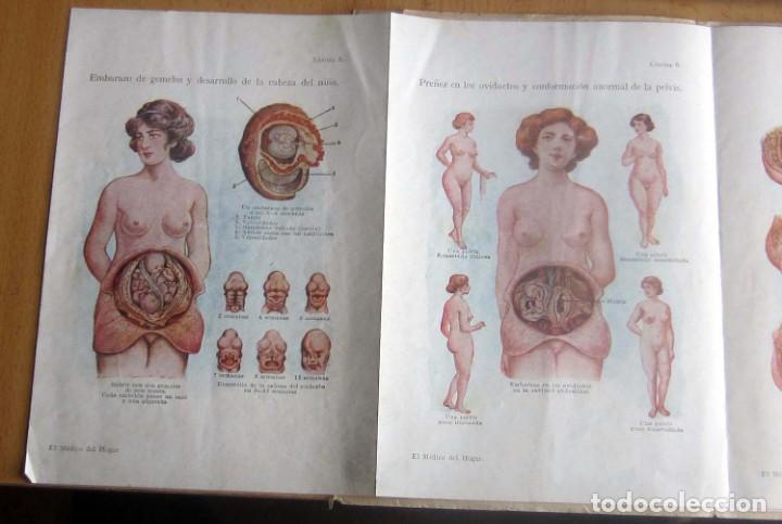 Libros antiguos: EL MEDICO DEL HOGAR,JENNY SPRINGER, DOCTORA EN MEDICINA,AÑO 1923, - Foto 4 - 196491720