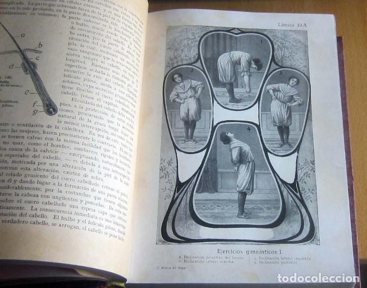 Libros antiguos: EL MEDICO DEL HOGAR,JENNY SPRINGER, DOCTORA EN MEDICINA,AÑO 1923, - Foto 14 - 196491720
