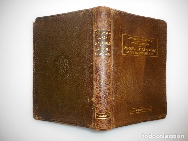 ATLAS-MANUEL DES MALADIESDE LA BOUCHE ET DES FOSSES NASALES (FRANCÉS) Y99175T (Libros Antiguos, Raros y Curiosos - Ciencias, Manuales y Oficios - Medicina, Farmacia y Salud)