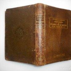 Libros antiguos: ATLAS-MANUEL DES MALADIESDE LA BOUCHE ET DES FOSSES NASALES (FRANCÉS) Y99175T . Lote 196518446