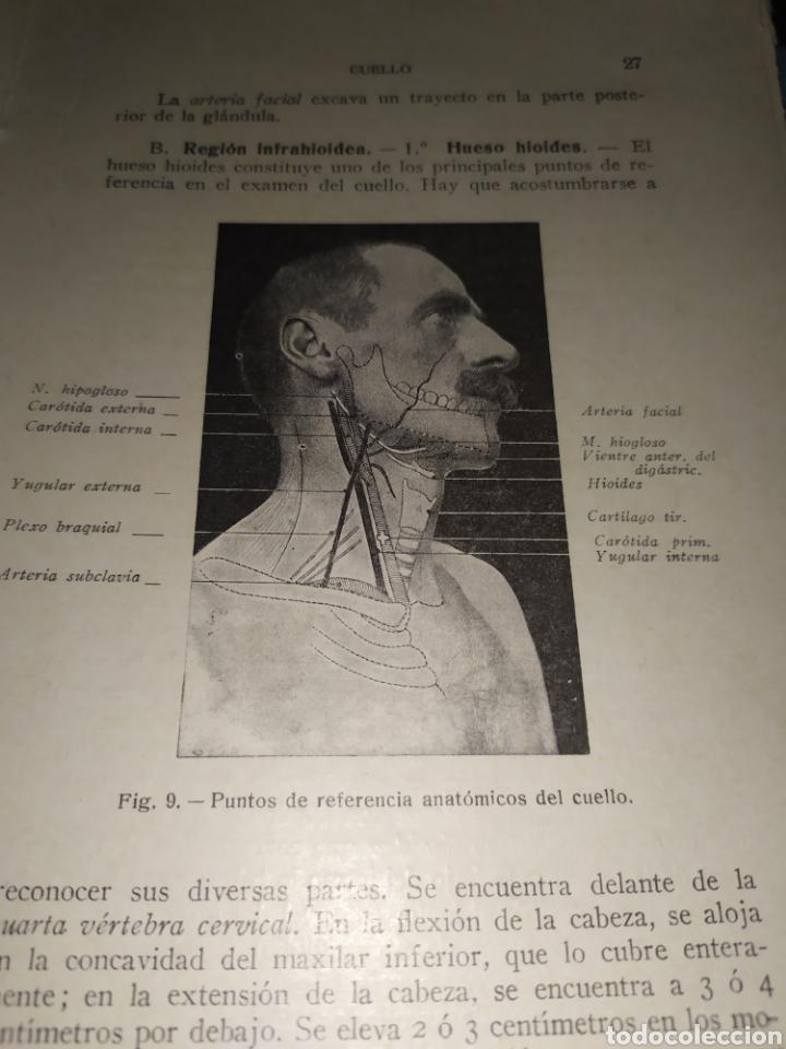 Libros antiguos: Anatomía bioscopica ,Dr aubaret 1923 - Foto 4 - 197530532