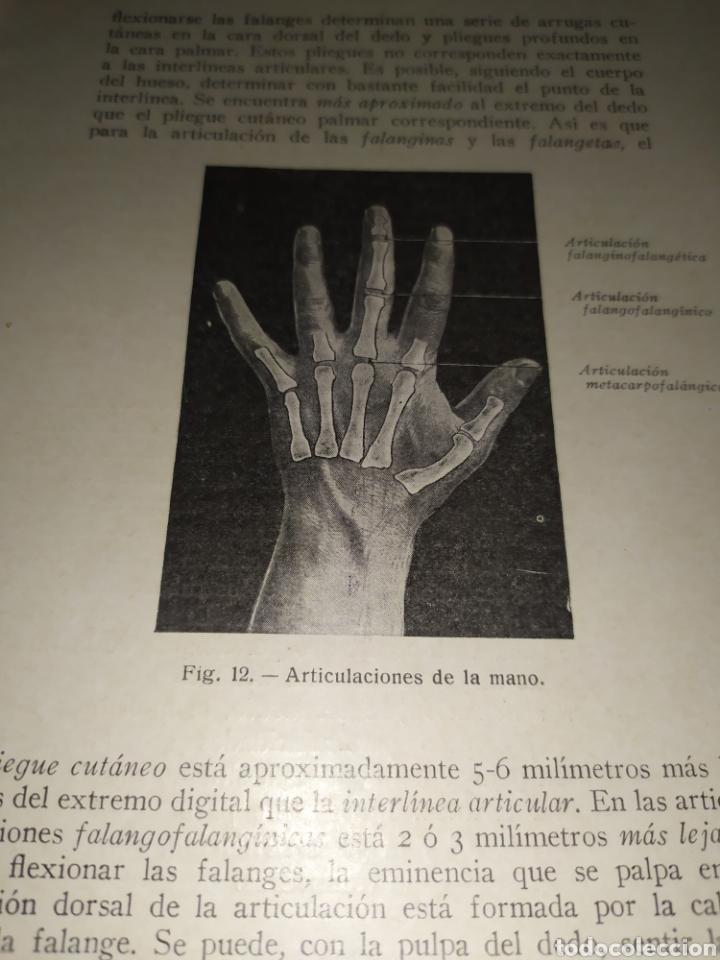 Libros antiguos: Anatomía bioscopica ,Dr aubaret 1923 - Foto 5 - 197530532