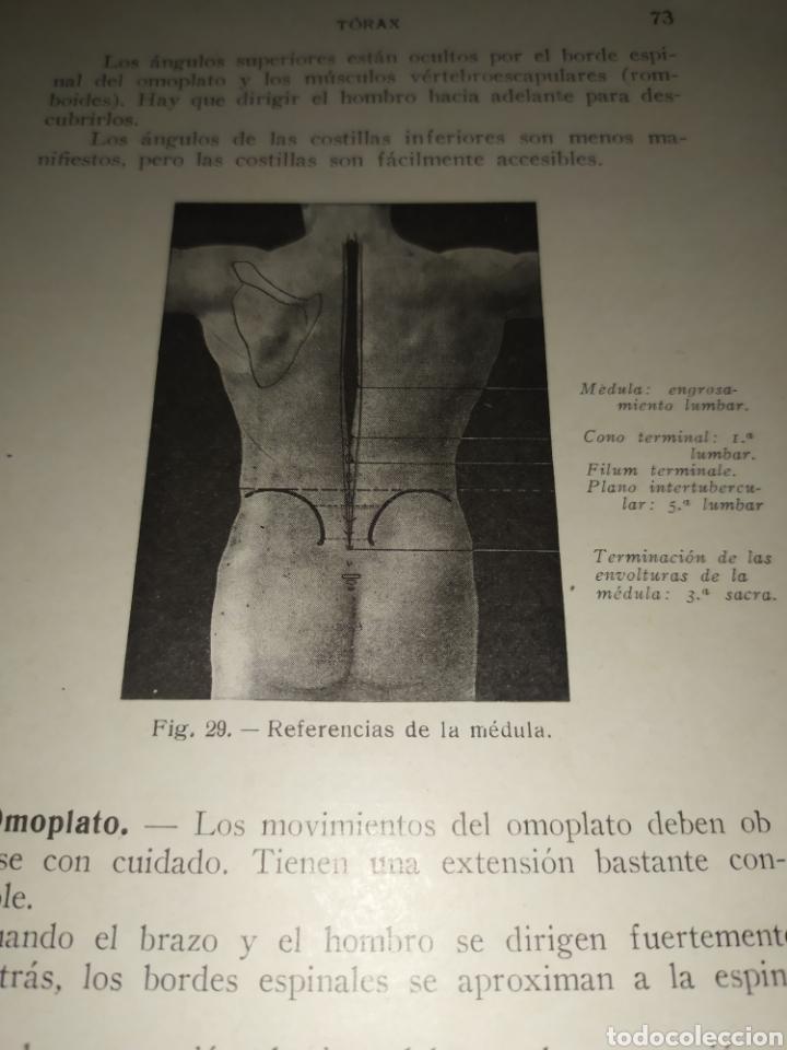 Libros antiguos: Anatomía bioscopica ,Dr aubaret 1923 - Foto 6 - 197530532