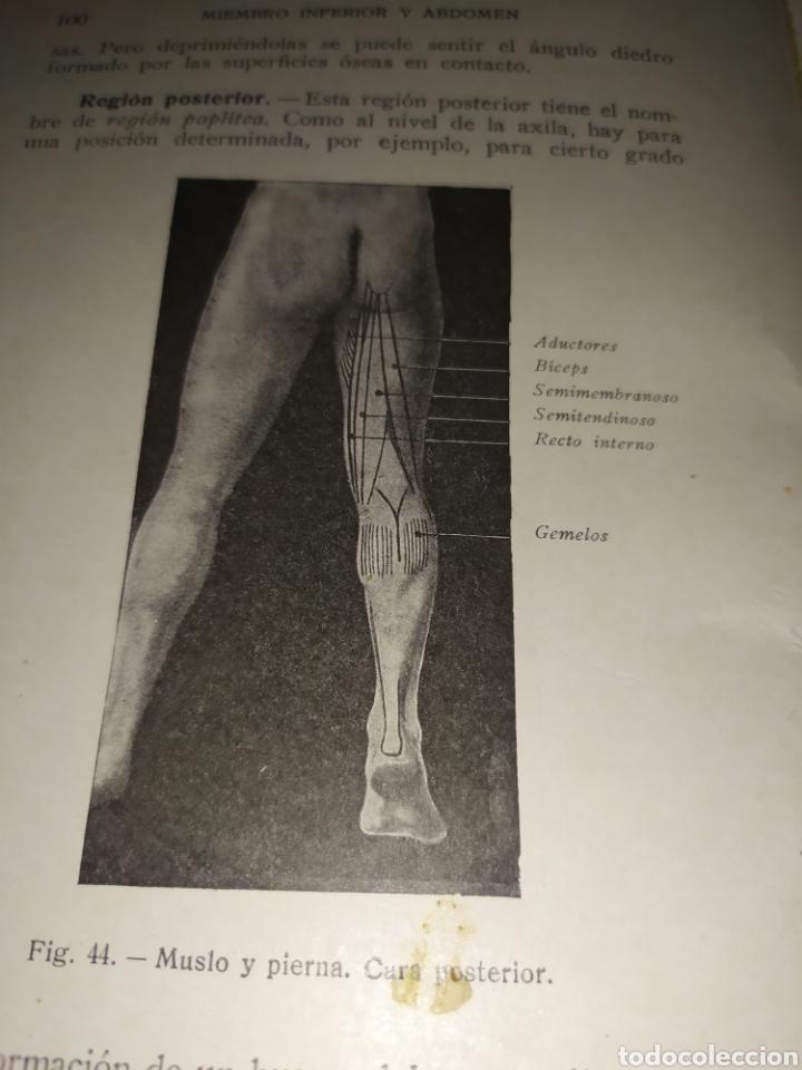 Libros antiguos: Anatomía bioscopica ,Dr aubaret 1923 - Foto 7 - 197530532