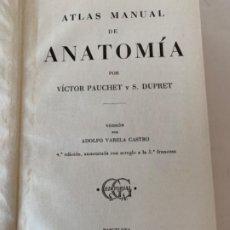 Libros antiguos: ATLAS DE ANATOMÍA. Lote 197843870