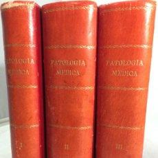 Libros antiguos: MANUAL DE PATOLOGÍA MÉDICA. M. BAÑUELOS 3 TOMOS. EDIT. CIENTÍFICO MÉDICA. BARCELONA. 1935. Lote 245173625