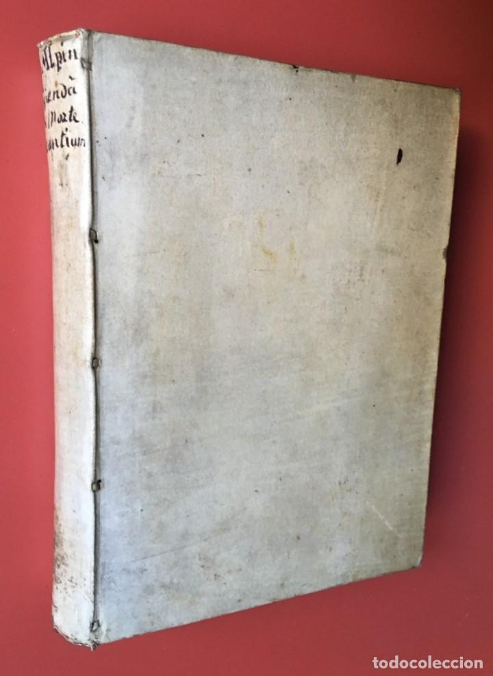 Libros antiguos: LIBRO MEDICINA - 1710 - PROSPERI ALPINI - VIDA MUERTE - Foto 3 - 199555426