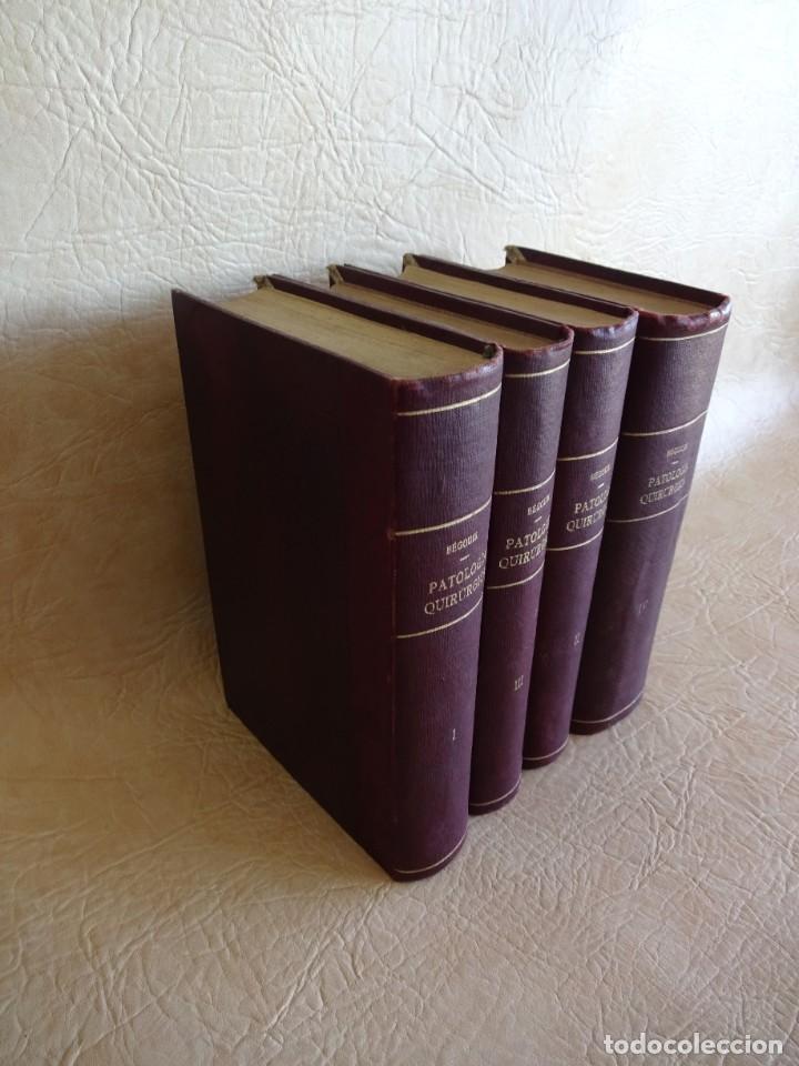 Libros antiguos: TRATADO DE PATOLOGÍA QUIRURGICA 4 TOMOS P. LECENE L. TIXIR R. PROUST AÑO 1912 BEGOUIN - Foto 3 - 132893442