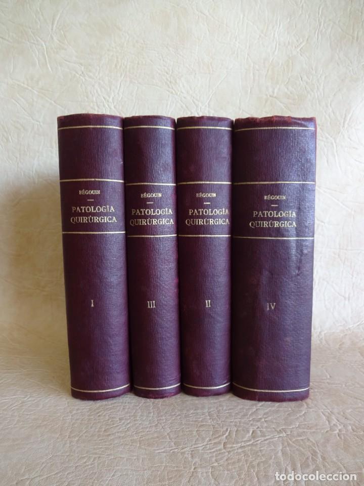 TRATADO DE PATOLOGÍA QUIRURGICA 4 TOMOS P. LECENE L. TIXIR R. PROUST AÑO 1912 BEGOUIN (Libros Antiguos, Raros y Curiosos - Ciencias, Manuales y Oficios - Medicina, Farmacia y Salud)