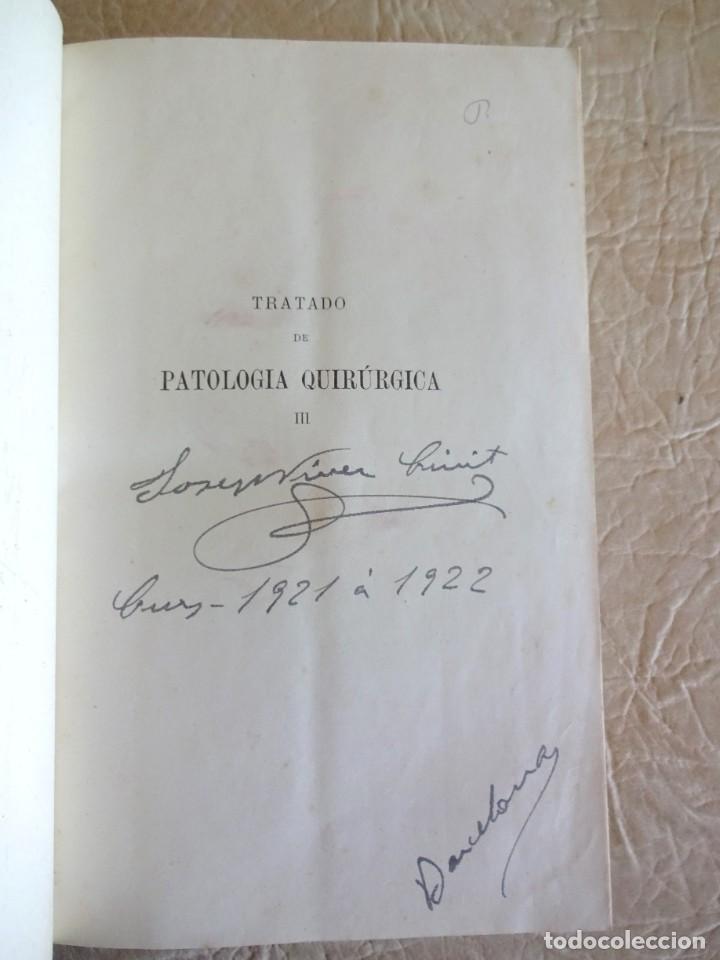Libros antiguos: TRATADO DE PATOLOGÍA QUIRURGICA 4 TOMOS P. LECENE L. TIXIR R. PROUST AÑO 1912 BEGOUIN - Foto 28 - 132893442