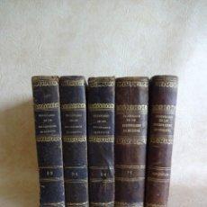 Libros antiguos: DICCIONARIO DE LOS DICCIONARIOS DE MEDICINA FRANCESES Y EXTRANJEROS AÑO 1857 1862. Lote 132448074