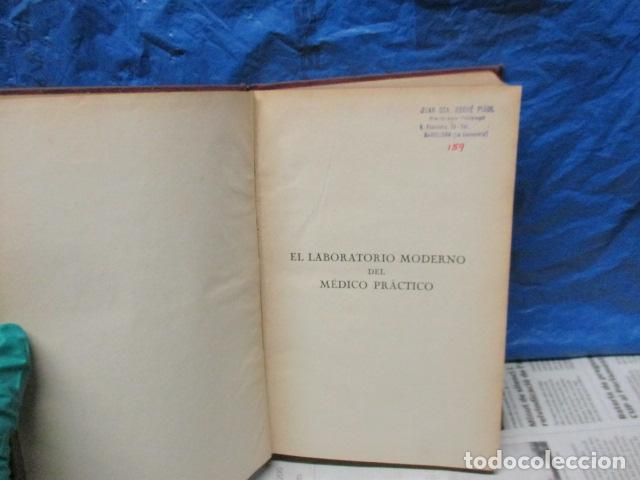 Libros antiguos: El Laboratorio Moderno del Médico Práctico del año 1933 Le Monde Medical. Dr. Agasse Lafont - Foto 5 - 233347610