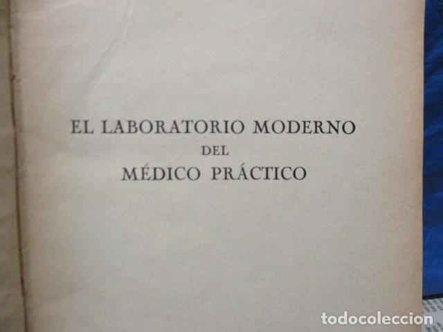 Libros antiguos: El Laboratorio Moderno del Médico Práctico del año 1933 Le Monde Medical. Dr. Agasse Lafont - Foto 6 - 233347610
