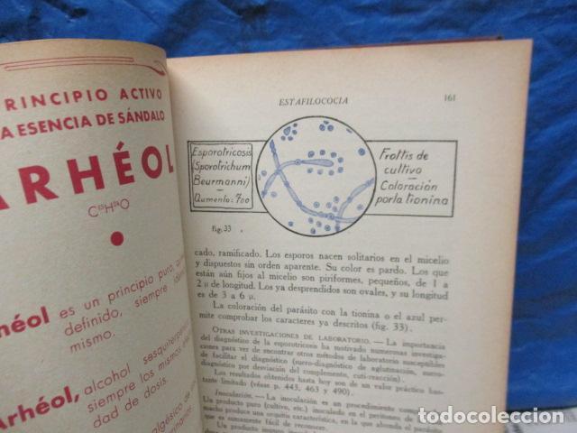 Libros antiguos: El Laboratorio Moderno del Médico Práctico del año 1933 Le Monde Medical. Dr. Agasse Lafont - Foto 9 - 233347610