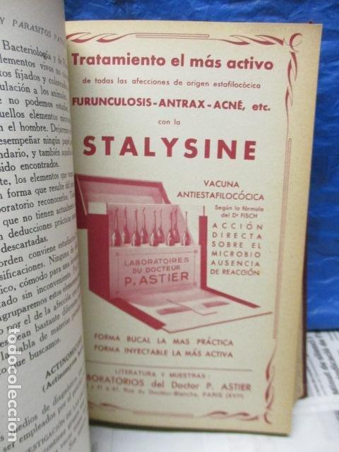 Libros antiguos: El Laboratorio Moderno del Médico Práctico del año 1933 Le Monde Medical. Dr. Agasse Lafont - Foto 11 - 233347610