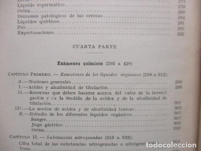 Libros antiguos: El Laboratorio Moderno del Médico Práctico del año 1933 Le Monde Medical. Dr. Agasse Lafont - Foto 21 - 233347610