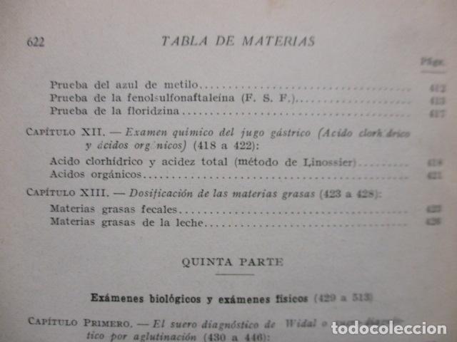 Libros antiguos: El Laboratorio Moderno del Médico Práctico del año 1933 Le Monde Medical. Dr. Agasse Lafont - Foto 25 - 233347610