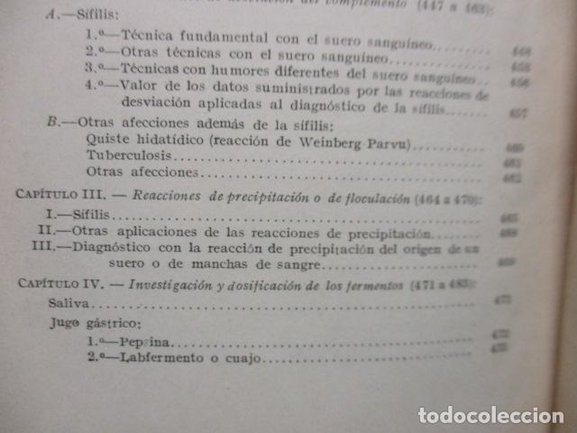 Libros antiguos: El Laboratorio Moderno del Médico Práctico del año 1933 Le Monde Medical. Dr. Agasse Lafont - Foto 28 - 233347610