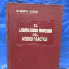 Libros antiguos: EL LABORATORIO MODERNO DEL MÉDICO PRÁCTICO DEL AÑO 1933 LE MONDE MEDICAL. DR. AGASSE LAFONT. Lote 233347610