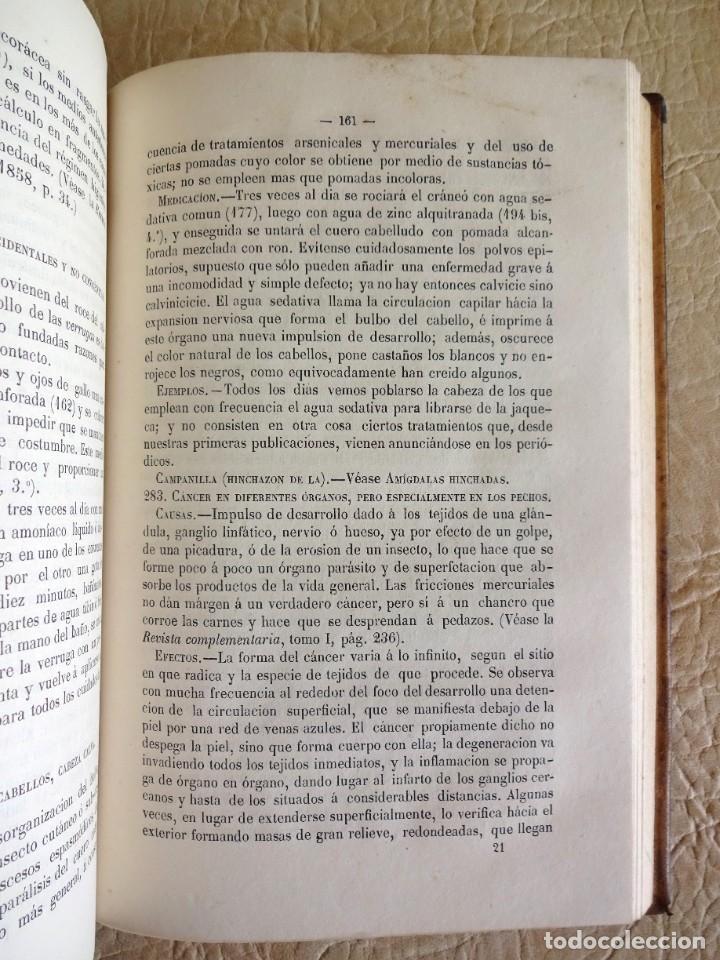 Libros antiguos: libro Biblioteca de Raspail manual de la salud causas y defensas farmacopea año 1877 - Foto 10 - 130233870