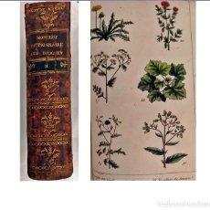 Libros antiguos: AÑO 1807: DICCIONARIO DE DROGAS. CON LÁMINAS EN COLOR. SIGLO XIX.. Lote 200291068