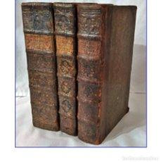 Libros antiguos: AÑO 1768: MEDICINAE STUDIOSORUM. 6 TOMOS EN 3 VOLÚMENES DE MEDICINA DEL SIGLO XVIII. ELEGANTES LOMOS. Lote 200595543
