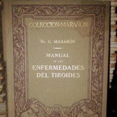 Libri antichi: ENFERMEDADES DEL TIROIDES. Lote 201232648