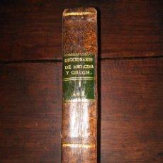 Libros antiguos: DICCIONARIO DE MEDICINA Y CIRUGÍA Ó BIBLIOTECA MANUAL MÉDICO-QUIRÚRGICA - TOMO 1 - A-B - 1805 - PIEL. Lote 201467018