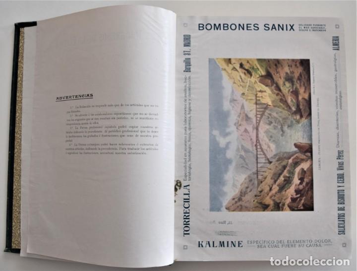 Libros antiguos: LOS PROGRESOS DE LA CLÍNICA DOS TOMOS AÑO COMPLETO DE 1914 - Foto 5 - 202394430