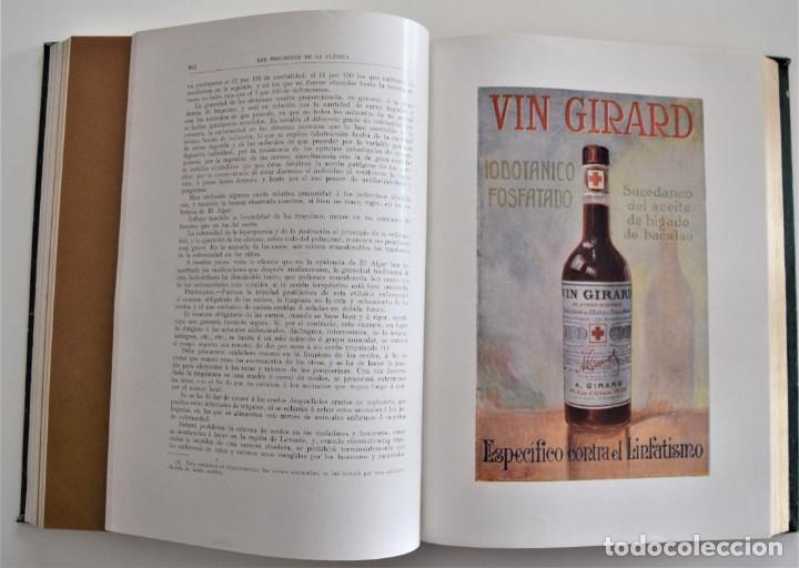 Libros antiguos: LOS PROGRESOS DE LA CLÍNICA DOS TOMOS AÑO COMPLETO DE 1914 - Foto 10 - 202394430