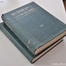 Libros antiguos: LOS PROGRESOS DE LA CLÍNICA DOS TOMOS AÑO COMPLETO DE 1915. Lote 202394771