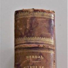 Libros antiguos: TRATADO PRÁCTICO DE LA SÍFILIS Y ENFERMEDADES VENÉREAS TOMO I - POR BERDAL - JOSÉ ESPASA, BARCELONA. Lote 202400217